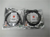 (2) Monoprice Premium Highspeed HDMI 6ft