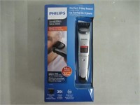 Philips Stubble Beard Trimmer Series 3000 with 10