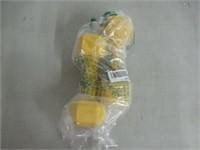 Bintyna 8lbs Yellow Dumbells