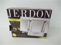 Jerdon JGL9W Tabletop Tri-Fold Two-Sided Lighted