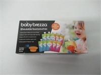 Baby Brezza Reusable Baby Food Storage Pouch -