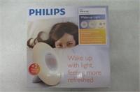Philips HF3505/60 Wake-Up Light with Radio, White