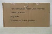 Homebi Shoe Rack Closet Tower Portable Storage