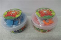 (2) Imperial Toy. Create-A-Monster putty ...