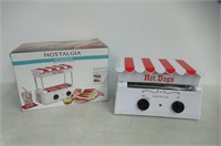 Nostalgia HDR565 Hot Dog Roller, White
