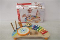 Hape Mighty Mini Band Wooden Percussion
