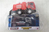 Lot of (2) Emergency Trucks Police/Fire Dept