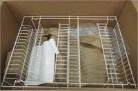 Lavish Home A050019 Closet 6 Shelves, Over The