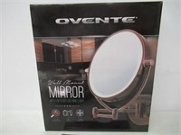 Ovente Wall Mount LED Lighted Makeup Mirror, 9.5