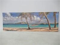 canvas prints wall art sea beach Canvas Print