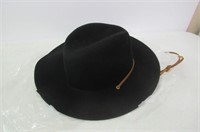 Brixton Men's Field Wide Brim Felt Fedora Hat,