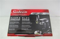 Sunbeam Mixmaster Planetary Stand Mixer Slicer and