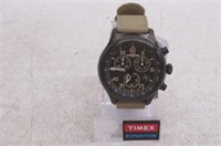 Timex Men's Expedition Field Chrono Black/Tan