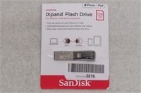 SanDisk iXpand Flash Drive (SDIX30C-128G-GN6NE)
