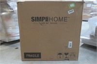 Simpli Home Avalon Collection Square Coffee Table