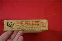 Colt Frontier Scout 22 .22RF Revolver