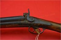 W Moore & Co Pre 98 Double 12 ga BP Shotgun