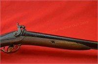 G Goulcher Pre 98 Double 12 ga BP Shotgun