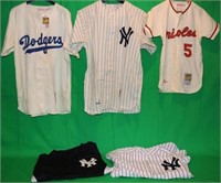LOT OF 5 HALL OF FAME COOPERSTOWN COLLECTORS