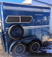 1980 Turnbow 2-Horse Trailer, 2-axle, bumper-pull, always kept inside, comes w/3 extra tires