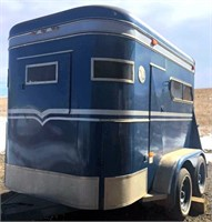 1980 Turnbow 2-Horse Trailer (view 2)