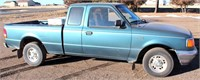 1997 Ford Ranger XLT, 4.0 liter gas, auto trans, ext cab (no rear seat/ just storage), 241,400 mi, runs good, has 2 extra tires, bed mat, tool box (pic 1)