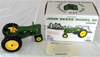 2002 JD Mdl 60 1/16 Scale Tractor, Ohio FFA Foundation Ltd Ed