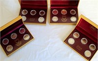 4 Sets of 2004 State Quarters (all the same) MI, FL, TX, IA, WI (picture 1)