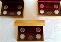 3 Sets of 2004 American Nickels (all the same) 2 Peace Medal, 2 Lewis & Clark (picture 1)