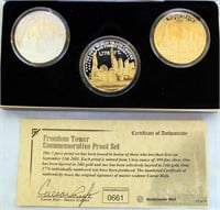 Set of Freedom Tower Proof Set Coins, SN: 0661 (picture 1)