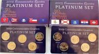 2002 & 2003 Commemoraive State Quarter Sets
