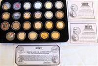 2004-2005 First Commemorative Mint Ultimate Nickel Collection