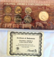 Colonial American Coin Collection (7 coins)