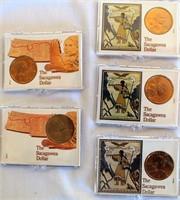 5- 2000 Sacagawea Dollars