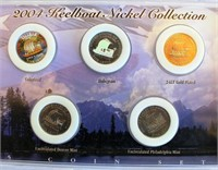 2004 Keelboat Nickel Collection (2 coins)