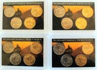 4 Sets- 2005 Westward Journey Nickels (4 coins per set)