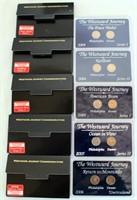 Set of 5 Westward Jouney Commemoratives (2- $1 coins in ea) 2004, 04 , 05, 05, 06