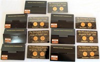 Set of 7 Westward Commemoratives (2-$1 coins in ea) 2000 thru 2006