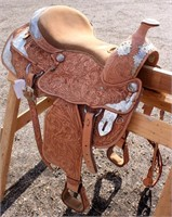 Western Saddle #1 (view 2)