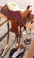 Western Saddle #2 (view 2)