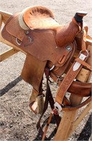 Western Saddle #3, view 2)
