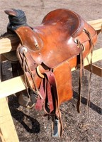 Western Saddle #4, (view 1)