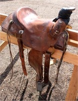 Western Saddle #4, (view 2)