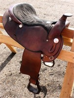 Western Saddle #5 (view 2)