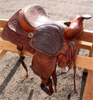 Western Saddle #6 (view 2)