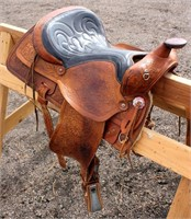 Western Saddle #7 (view 2)