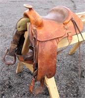 Western Saddle #8, Sever's Saddlery, Oakley Idaho (view 1)