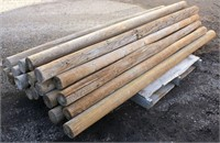 Wood Fence Posts