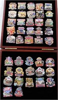Super Bowl Collector Pins (in box) 1967 thru 2008
