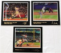 3 - Baseball Motion/Instant Replay Pics - Mike Piazza, Greg Maddux, Alex Rodriguez